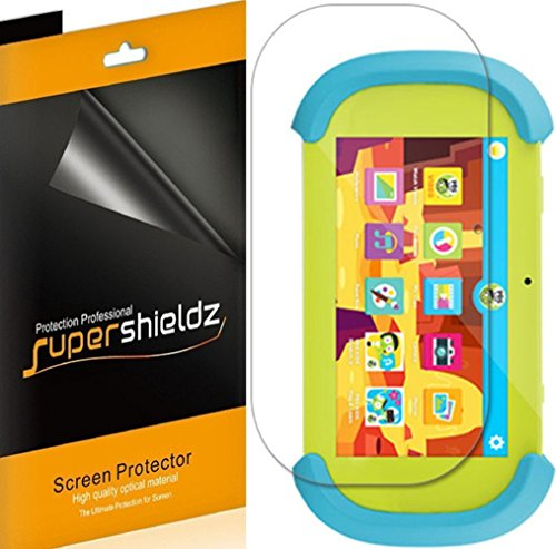 [3-Pack] Supershieldz for Ematic Funtab Play 7 inch Kids Tablet Screen Protector, Anti-Glare & Anti-Fingerprint (Matte) Shield + Lifetime Replacement (Funtab 7 Kids Tablet)