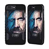Official HBO Game Of Thrones Sandor Clegane Valar Morghulis Black Evolution Case for Apple iPhone 7 Plus / iPhone 8 Plus