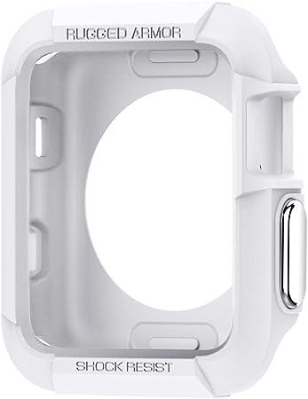 Spigen Rugged Armor Kompatibel Mit Apple Watch Hülle Elektronik