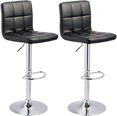 Signature Design By Ashley Bellatier Adjustable Height Bar Stool Black Chrome Finish Furniture Decor