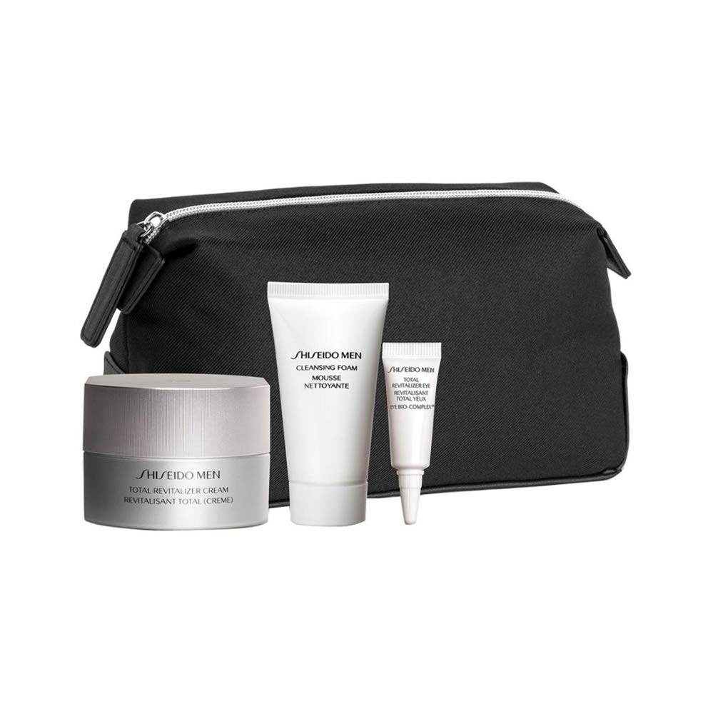 Shiseido Men Total Revitalizer Lote 3 Pz - 5 ml.