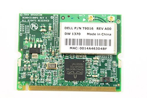 Dell Mini PCI T9016 WLAN WiFi 802.11g Wireless Card Inspiron 1300 B130 Precision ()