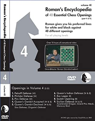 Roman's Encyclopedia of 40 Essential Chess Openings Part 4