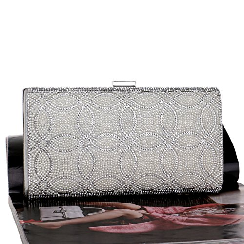 Prom A For Bags Women Rhinestone Women's Wedding Evening And Party Handbag Crystal T4HxwPqI
