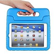Apple iPad mini 4 Kids Case,Ocuya Kiddie Series Shockproof Case Light Weight Case With Handle for Apple iPad mini 4 (iPad mini 4, blue)