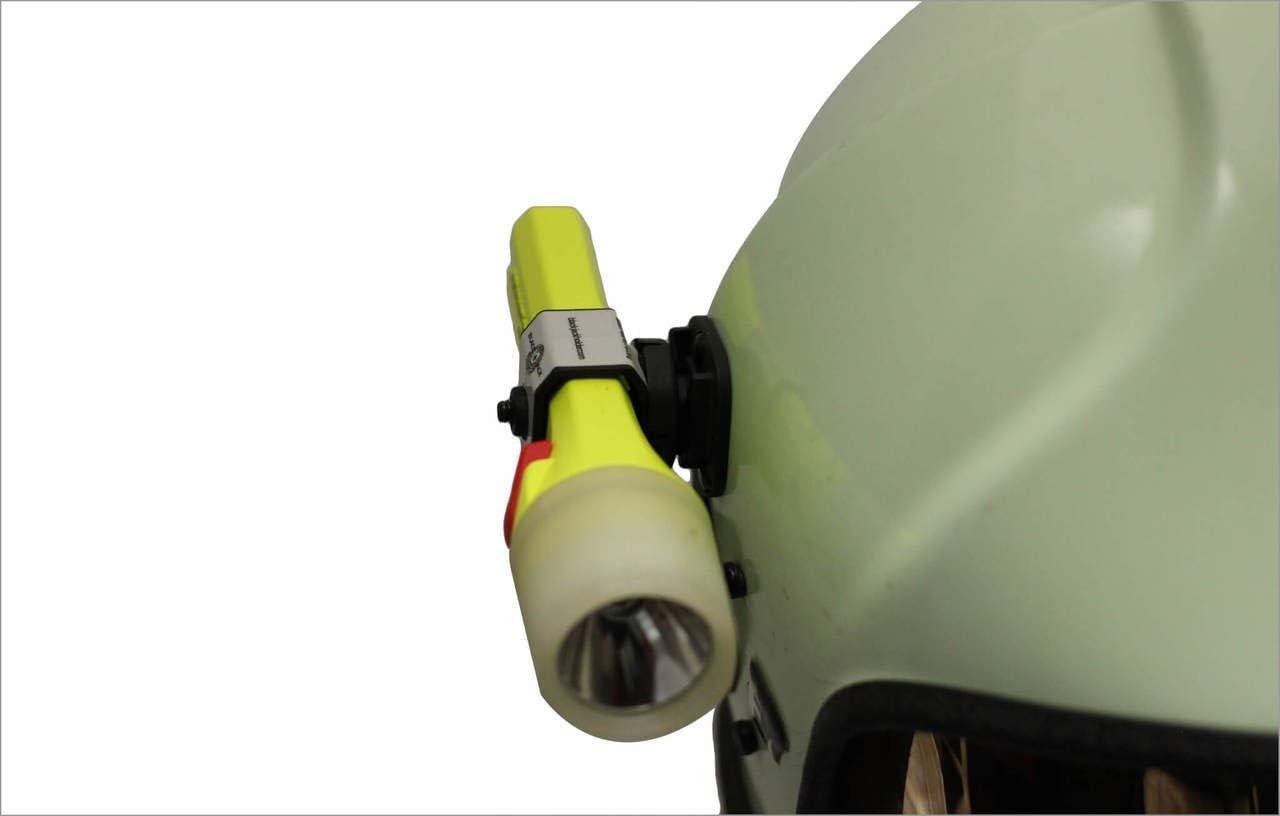 Blackjack GM005 Global Mount Firefighter Helmet Flashlight System Black