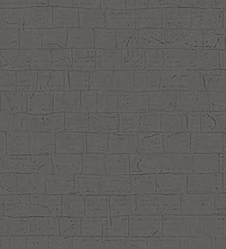 Casadeco Empreintes 18279218 Papier Peint Avec Imitation Mur De