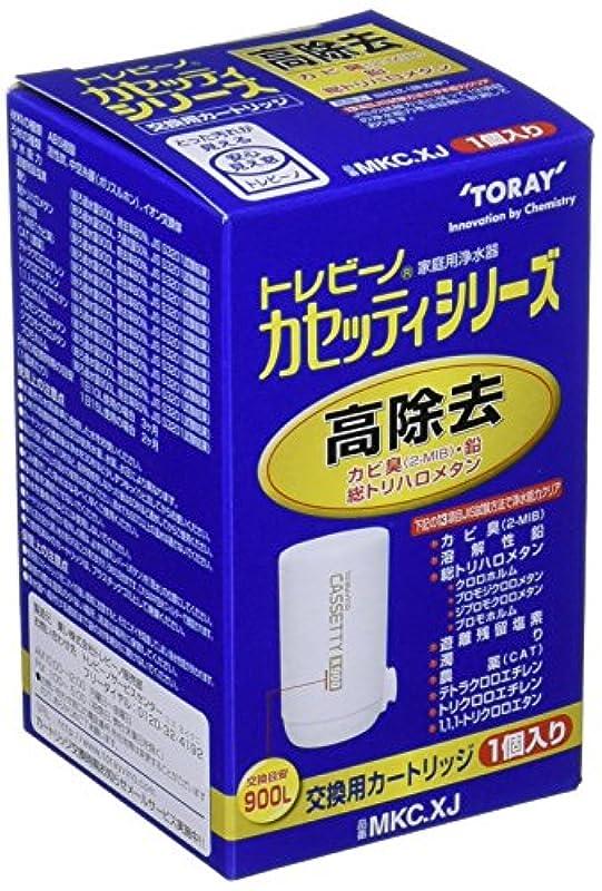 토레(Toray Industries) 정수기 트레비《―노》 카세《디시리즈》 교환용 카트리지 고제거 타입 1개입 MKC.XJ