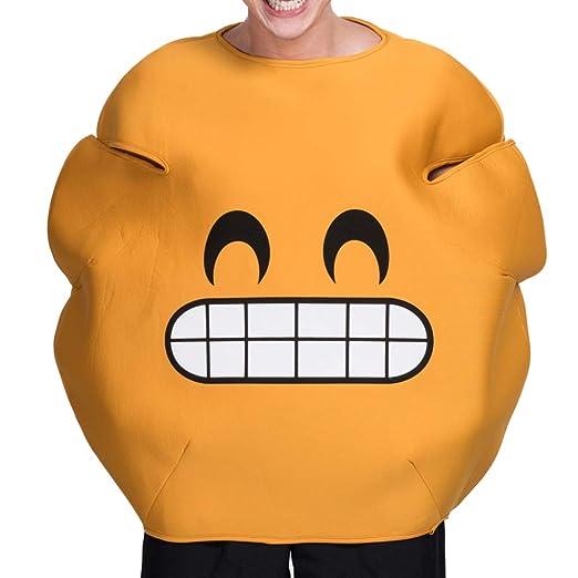 LBAFS Disfraces De Halloween, Smiley De Calabaza Sonriente ...