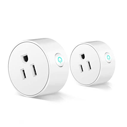 Smart Plug Wifi Outlet Mini Socket Compatible With Alexaecho Dot