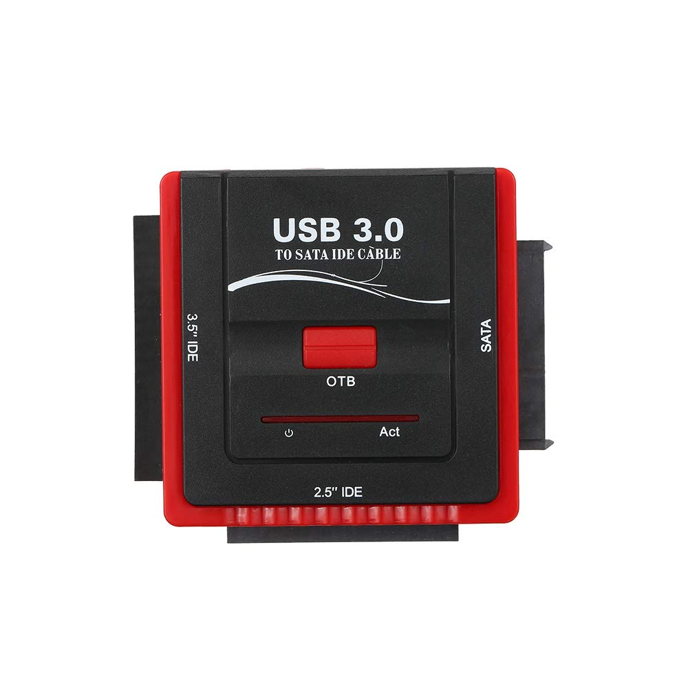 TOOGOO USB 3.0 A Sata/Adaptador IDE Adaptador Convertidor de Disco ...