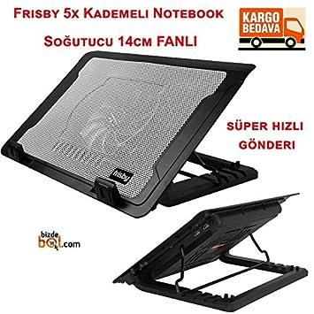 "0de3ecda48197 FRISBY FNC-37ST 13"" ~ 17"" ABS Plastik Siyah Notebook Soğutucu  Ayarlanabilir Stand"