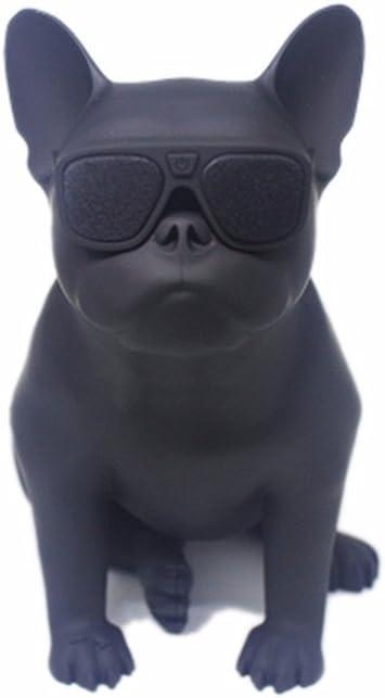 Moon Boat Französische Bulldogge Wireless Bluetooth Auto Subwoofer Kreativen Kleinen Lautsprecher Ganze Hund Intelligenz Persönlichkeit Schwarz Audio Hifi