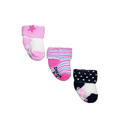 3 Pack of Baby Girls Terry Cuff Socks by OshKosh