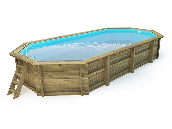 piscine bois ibiza - 8.57 x 4.57 x 1.31 m