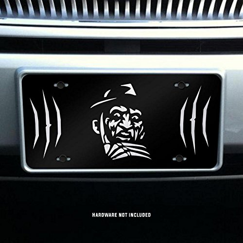 Freddy Krueger Vanity Front License Plate Tag KCE082 KCD