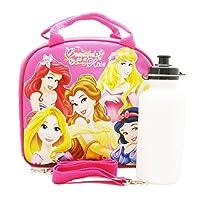 Bolsa de almuerzo de la princesa Disney con una botella de agua - Hot Pink by N /A by Unknown