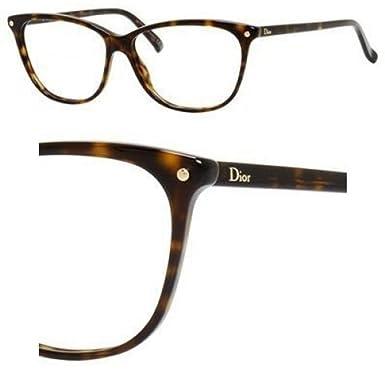 Dior Montures de lunettes Pour Femme CD3270 - 086  Dark Tortoise - 53mm 4eb628d5d254