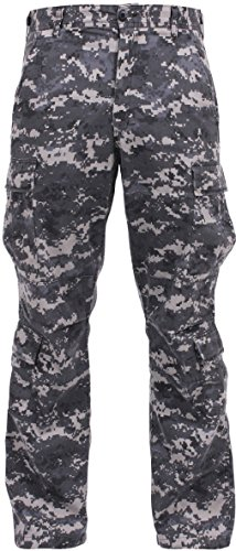 Military Paratrooper Fatigues Distressed Washed Army BDU Tactical Cargo - Urban Bdu Tiger Pants