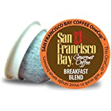 San Francisco Bay OneCup Breakfast Blend (36 Count) Single Serve Coffee Compatible with Keurig K-cup Brewers Single Serve Coffee Pods, Compatible with Cuisinart, Bunn, iCoffee single serve brewers