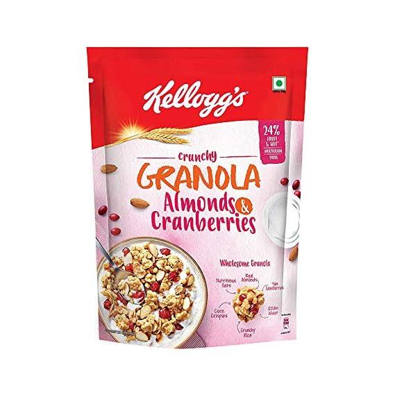 Kellogg's Crunchy Granola Almonds and Cranberries 460g