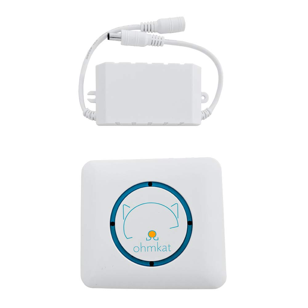 OhmKat Wireless Universal Video Doorbell Chime (Patent Pending) - For Use with Nest, Ring, August, Skybell, Zmodo Compatible OhmKat Video Doorbell Power Supplies