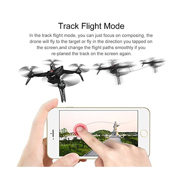 ElementDigital MJX Bugs 5W GPS Drone App Operation iOS Android 1080P 5G  WiFi Camera Record Video 1-Key RTH Altitude Hold Track Flight Headless