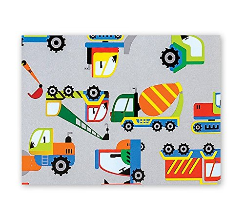 Trucks Boys Big Rig Toy Gift Wrapping Paper Roll 24