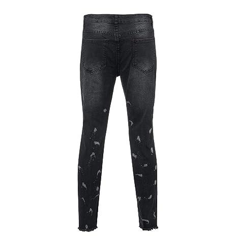 Seaintheson Mens Jeans, Men Skinny Stretch Denim Pants ...