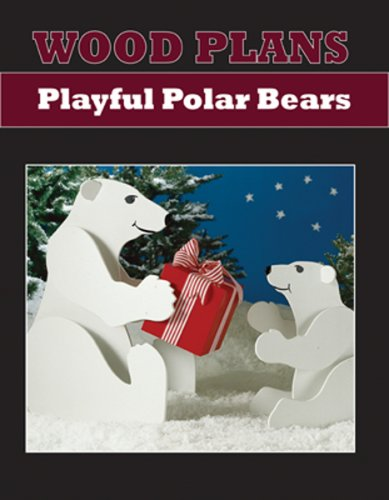 POLAR BEARS - PAPER WOODWORKING PLANS (Plans Jig Woodworking)