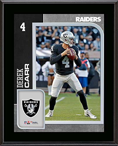 Derek Carr Oakland Raiders 10.5'' x 13'' Sublimated Player Plaque - Fanatics Authentic Certified - NFL Player Plaques and Collages