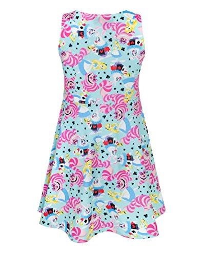 236d431d6 Disney Alice In Wonderland Girls Skater Dress - Alice-in-Wonderland ...