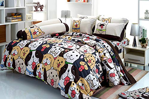 Tamegems Bedding Maja Cute Puppy Collection Gray