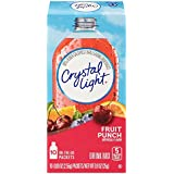 Crystal Light Drink Mix, Fruit Punch, On The Go Packets, 10 Count (Pack of 4 Boxes)