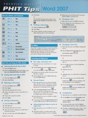 Phit Tips Word 2007 ebook