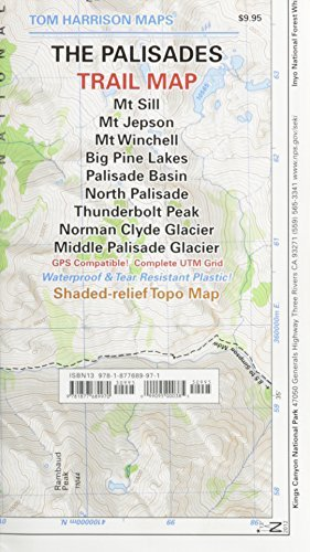 Palisades Trail Map (Tom Harrison Maps) by Tom Harrison Maps - Palisades Mall