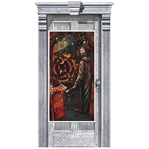 Side Show Door Cover | Halloween Decoration]()