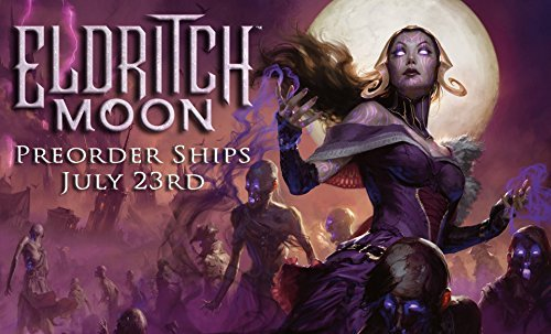(MTG Magic Eldritch Moon Prerelease Kit, Spindown Die, 4 Packs and 2 Shadows Over Innistrad Packs )