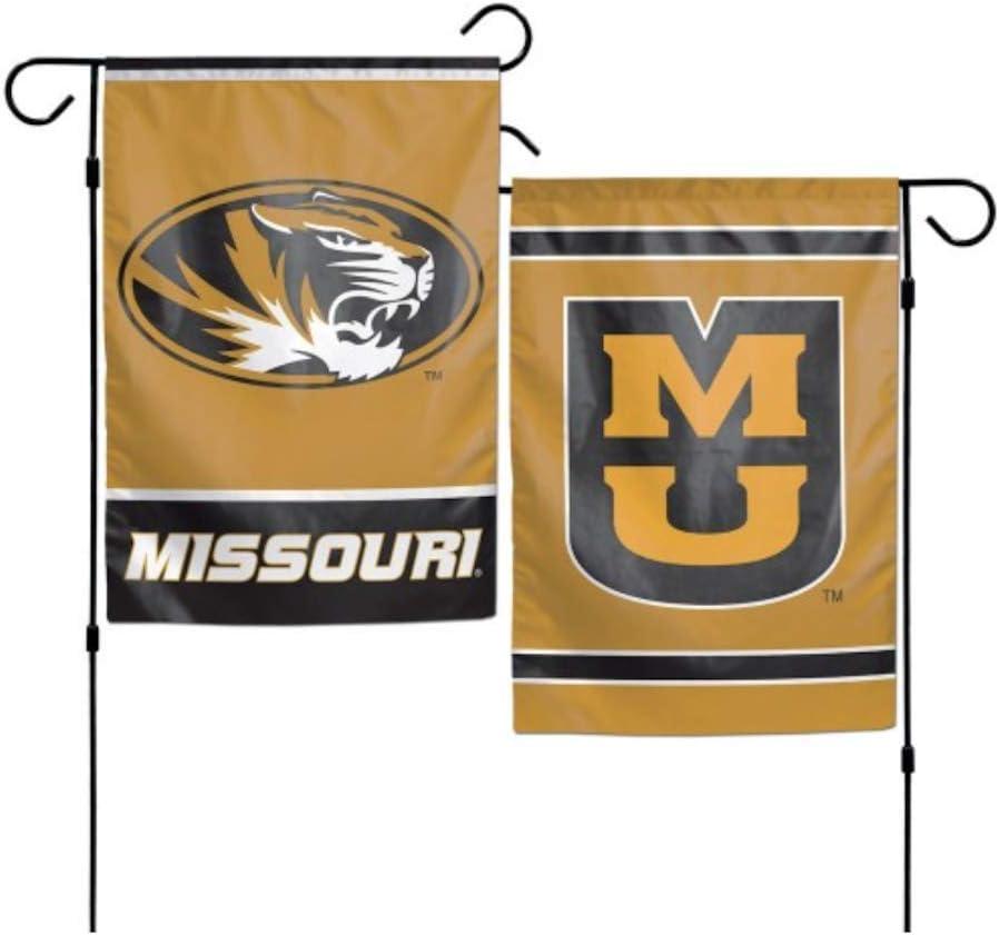 WinCraft NCAA University of Missouri Tigers 12 x 18 inch 2-Sided Garden Flag