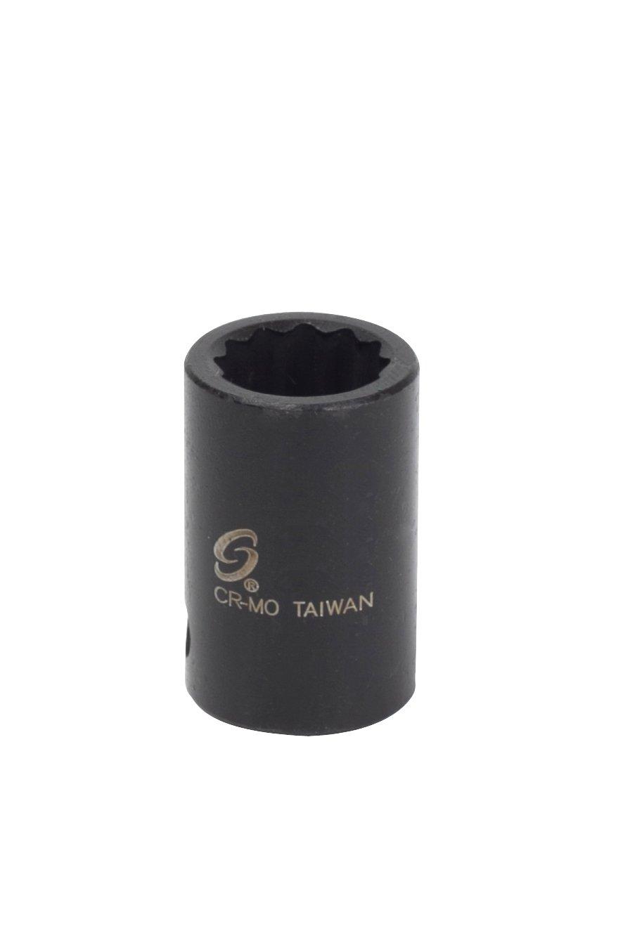 Sunex 310 Mz 3 / 8インチドライブ10 mm 12ポイントメトリック標準インパクトソケット B0076HIGZG