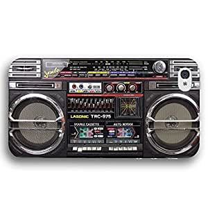 80s Classic Boombox Radio Cassette Player iPhone 4 and iPhone 4S Slim Phone Case hjbrhga1544