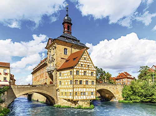 Ravensburger Rathaus Bamberg Germany Jigsaw Puzzle (500 Piece)