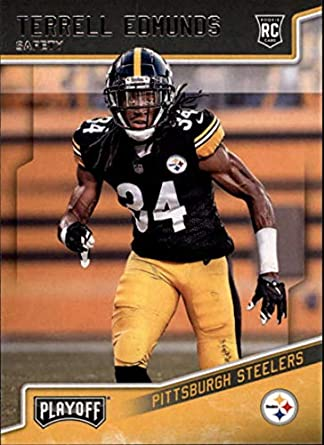 2018 Panini Playoff  252 Terrell Edmunds Rookie RC Rookie Pittsburgh  Steelers NFL Football Trading Card 1adea88b2