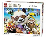 King Puzzle Animals 1000pc - Beach Party Selfie