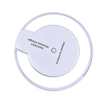 Saus ultrafina Cargador inalámbrico Qi Pad para Samsung ...