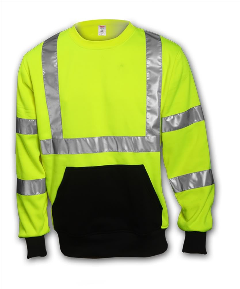 Tingley Type R Class 3 El Paso Mall Sweatshirt Max 46% OFF - Fluorescent Yellow Green C