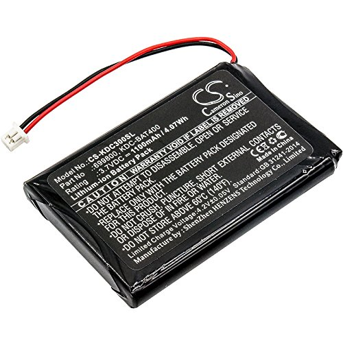 Replacement Battery for KOAMTAC KDC30 KDC350 KDC350R2 KDC400