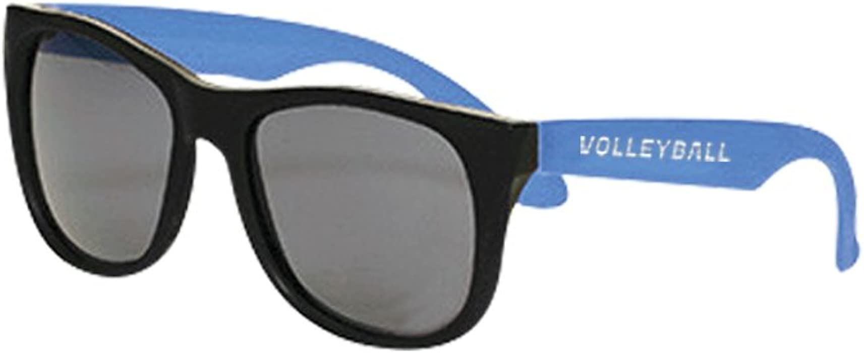 Volleyball Retro Sunglasses, Black/Royal, One Size at Amazon ...