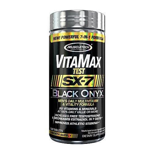 MuscleTech VitaMax Test SX7 Black Onyx 120 Tablets