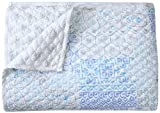 Stylemaster Twill and Birch Casey Reversible Quilted Bedspread, Full, Surf